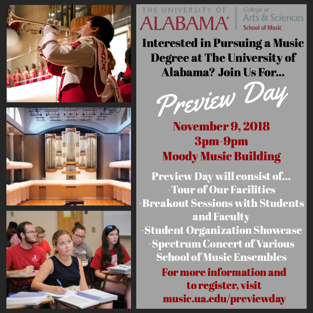 Preview Day Social flyer
