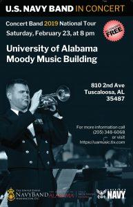 US Navy Band poster
