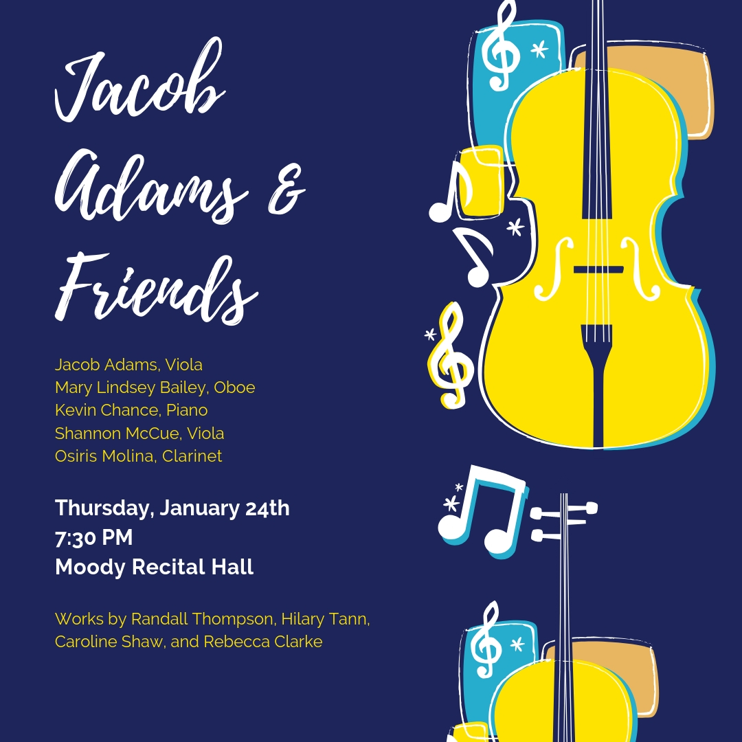 Jacob Adams and Friends poster