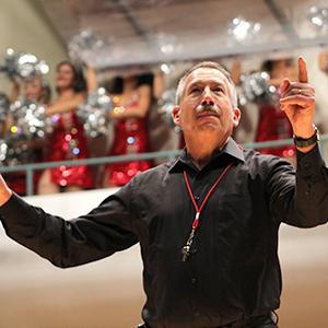 Skip Snead conducting musicians